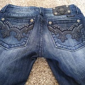 Miss Me Jeans Size 26x30 Boot Cut JW5307B6